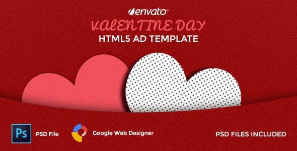 Valentine AD Template