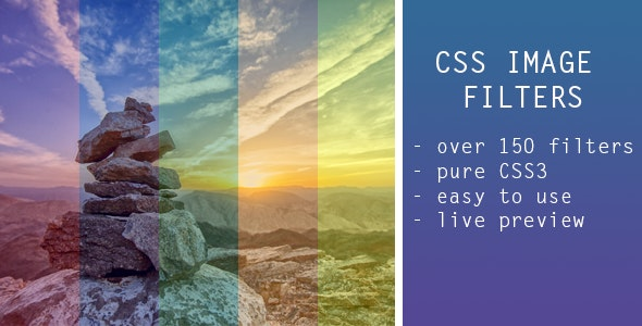 CSS Image Filters - CodeCanyon Item for Sale