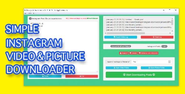 Simple Instagram Downloader - CodeCanyon Item for Sale