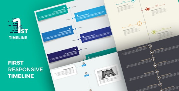 First - Responsive Timeline - CodeCanyon Item for Sale