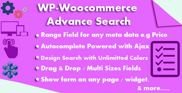 WP-Woocommerce Advance Search