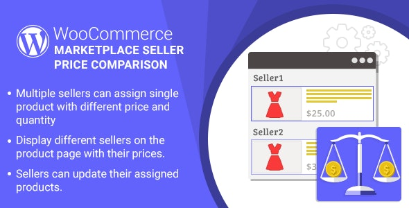 Marketplace Multi Vendor Price Comparison Plugin for WooCommerce - CodeCanyon Item for Sale