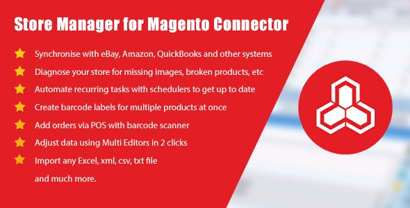 Store Manager for Magento Connector