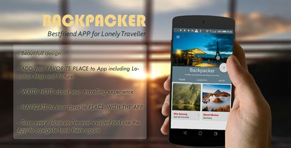 Backpacker : Store your Fav Place, Navigate there and Write Review! (BEING MAINTENANCE)