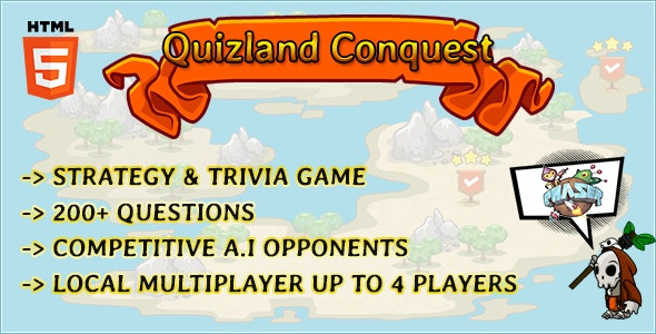 Quizland Conquest - CodeCanyon Item for Sale