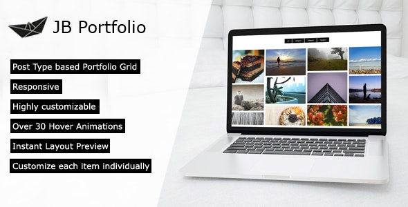 JB Portfolio - a filterable Portfolio Plugin for WordPress - CodeCanyon Item for Sale