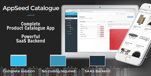 AppSeed Catalogue - Full Application with self hosted backend - CodeCanyon Item for Sale