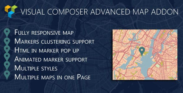 Advance Google Map WPBakery Page Builder (formerly Visual Composer)