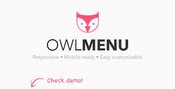 Owl Menu: Multipurpose WordPress Menu Plugin