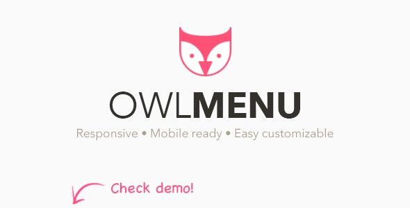 Owl Menu: Multipurpose WordPress Menu Plugin - CodeCanyon Item for Sale