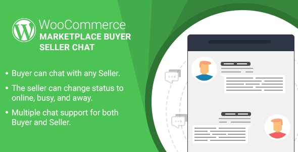 WordPress WooCommerce Marketplace Buyer Seller Chat Plugin - CodeCanyon Item for Sale