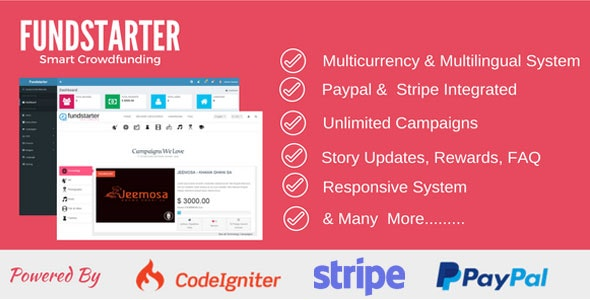 Fundstarter - Smart Crowdfunding by ATNTechnologies | CodeCanyon