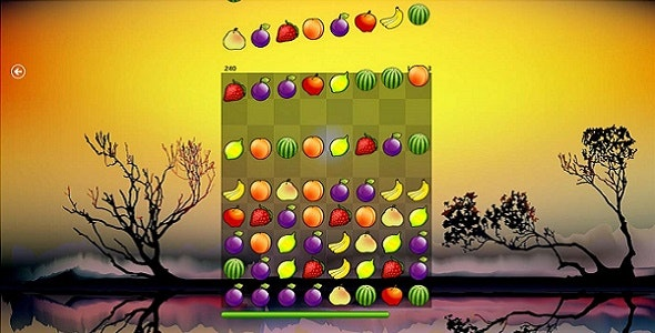Fruit Drop Game - CodeCanyon Item for Sale