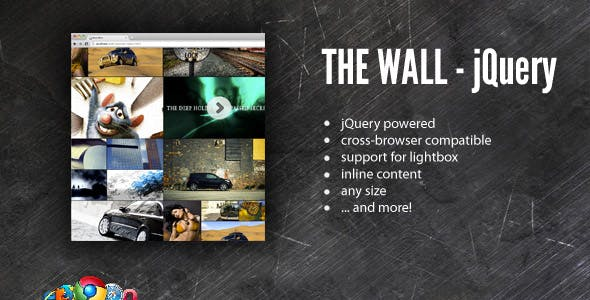 The Wall - Media Gallery - jQuery Powered