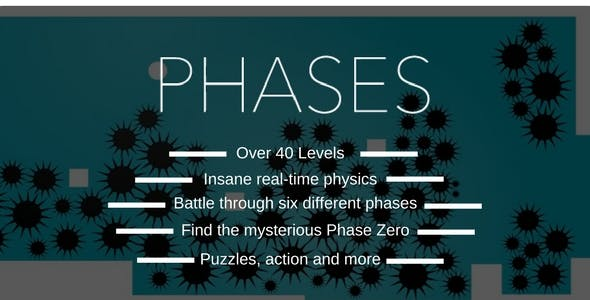 Phases | Android IOS Game | High Graphics | Admob IAP