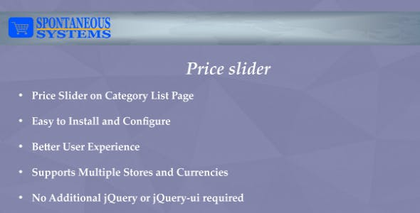 Price Slider Magento2 Extension