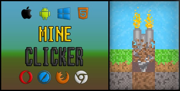Mineclicker | Construct 2