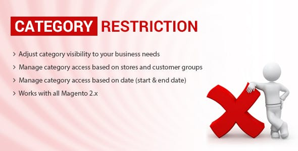 Category Restriction Magento 2 extension
