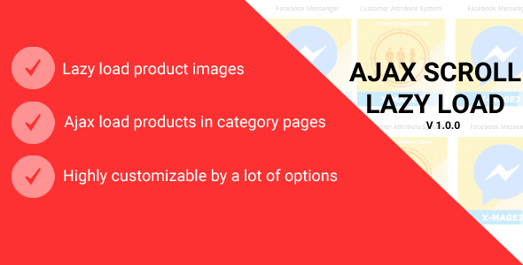 Magento 2 Ajax Scroll and Lazy Load - CodeCanyon Item for Sale