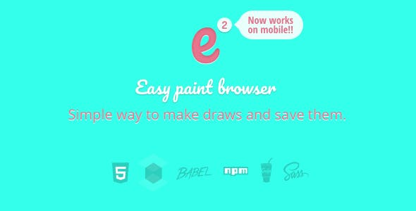 Easy Paint Browser and mobile (v.2)