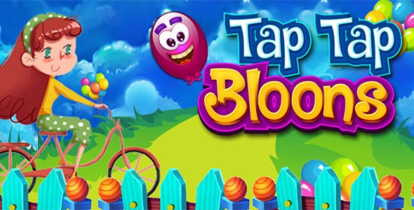 Tap Tap Bloon addicting iOS Game for Top Chart - CodeCanyon Item for Sale