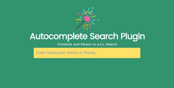 Jsearch - Contacts and Person Info Search in JSON File