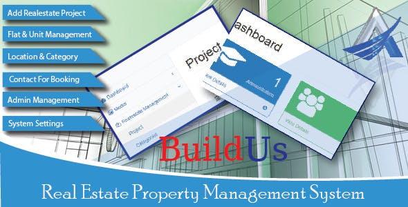 BuildUs - Real Estate Property Management System