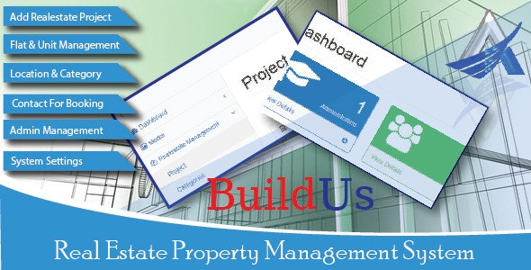 BuildUs - Real Estate Property Management System - CodeCanyon Item for Sale