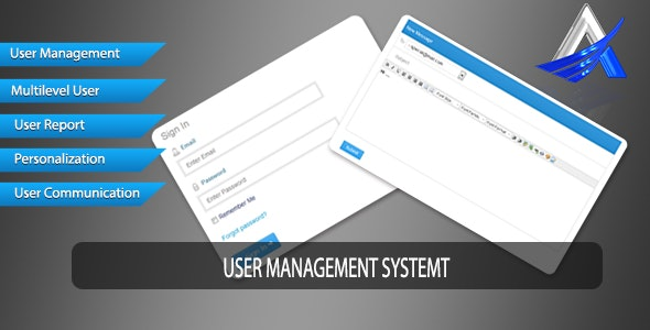 User Management System - CodeCanyon Item for Sale