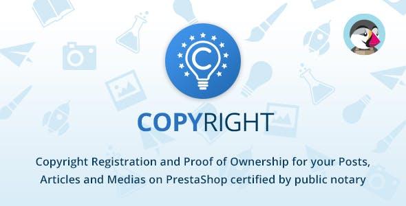 Copyright Plugin for PrestaShop