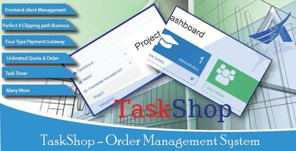 TaskShop - Order Management System - CodeCanyon Item for Sale