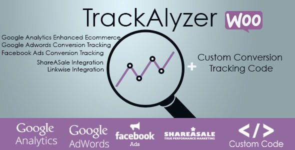 TrackAlyzer - Analytics & Custom Tracking Code for WooCommerce