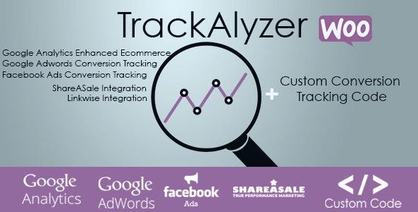 TrackAlyzer - Analytics & Custom Tracking Code for WooCommerce - CodeCanyon Item for Sale