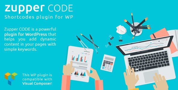 Zupper code plugin - shorcodes pack for your WordPress themes - CodeCanyon Item for Sale