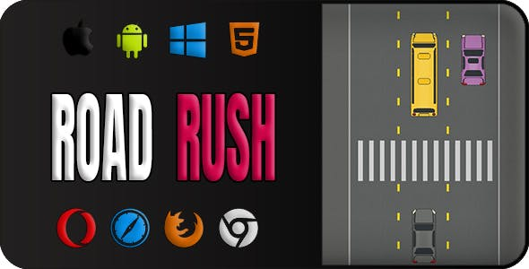 Road Rush | Construct 2