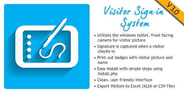 Visitor Signin System