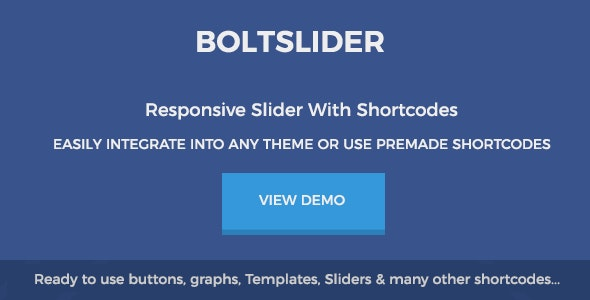 Boltslider - Responsive HTML5/Jquery Slider - CodeCanyon Item for Sale