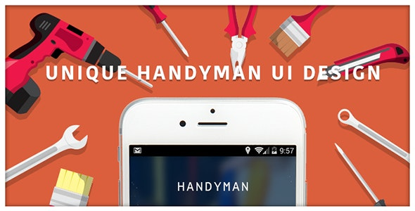 Handyman Android App by bluehorntech | CodeCanyon