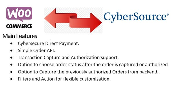 Woocommerce Cybersource SOAP Payment Gateway