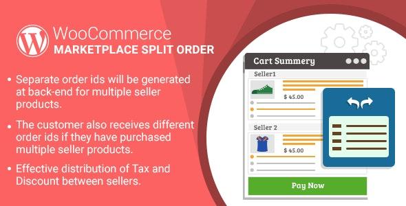 WordPress WooCommerce Marketplace Split Order Plugin - CodeCanyon Item for Sale