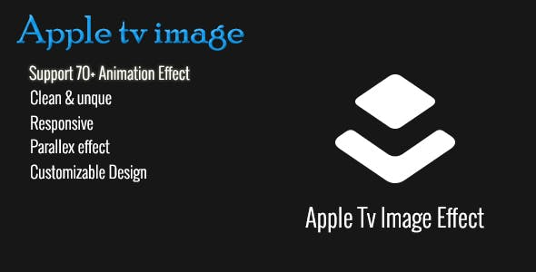 Apple TV Image Parallax Effect Plugin
