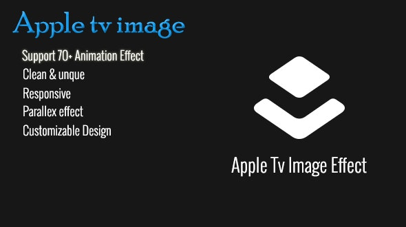 Apple TV Image Parallax Effect Plugin - CodeCanyon Item for Sale