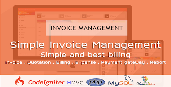Chameleon Invoice Manager - Invoicing Made Easy - CodeCanyon Item for Sale