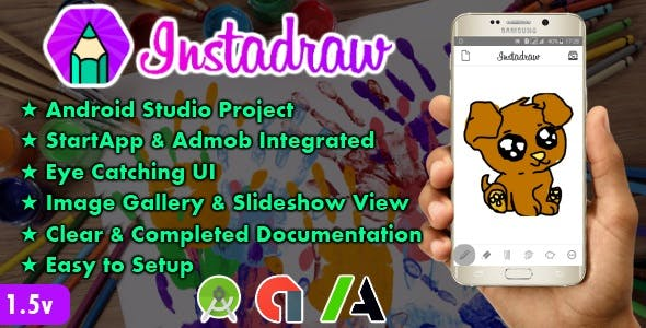 Instadraw - Android Drawing App Template