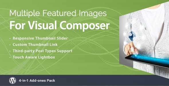 Multiple Featured Images for Visual Composer