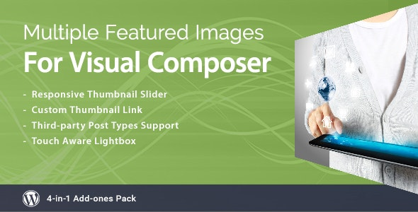 Multiple Featured Images for Visual Composer - CodeCanyon Item for Sale