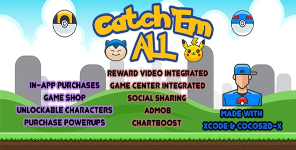 Catch Em All - CodeCanyon Item for Sale