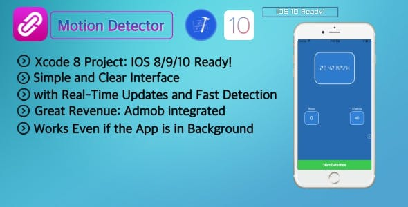 Motion Detection | The #1 Fitness and Motion Detector App(Objective-c)