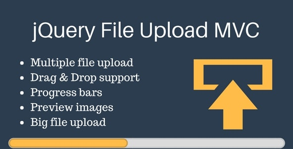 jQuery File Upload in MVC - CodeCanyon Item for Sale