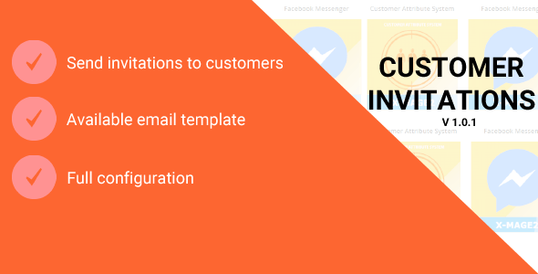 Magento 2 Customer Invitations